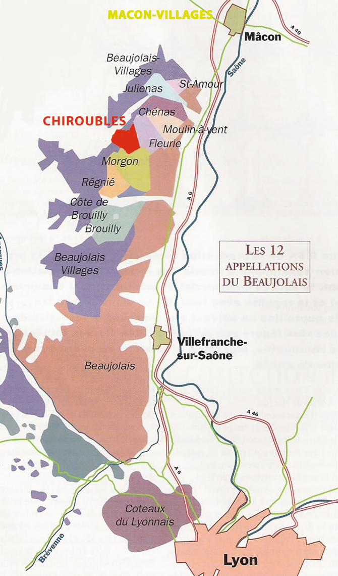 Le vignoble beaujolais