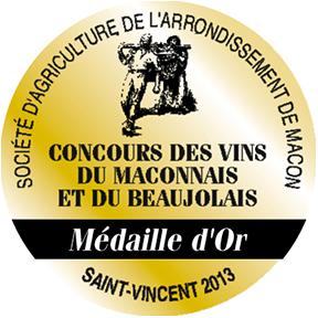 Médaille Saint Vincent Macon