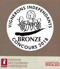 Médaille Concours des Vignerons Indépendants
